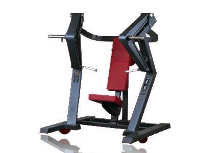 体育联盟-坐式推胸训练器