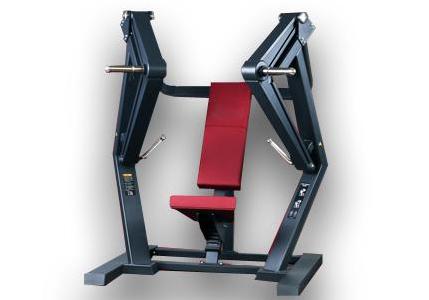 体育联盟-下斜推胸训练器
