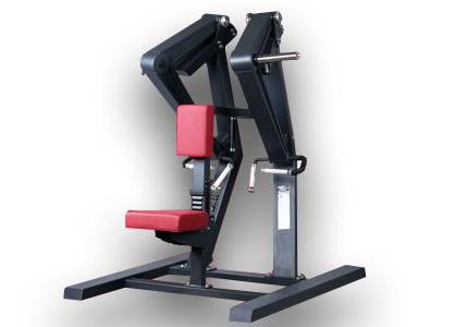 IG娱乐-坐式低拉背训练器